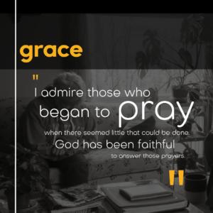 grace volunteer