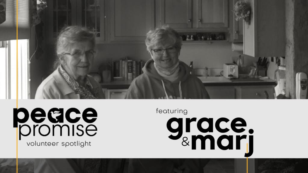 grace and marj volunteers